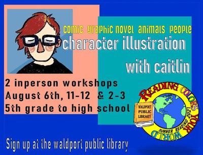 Character Illustration Workshop with Caitlin!