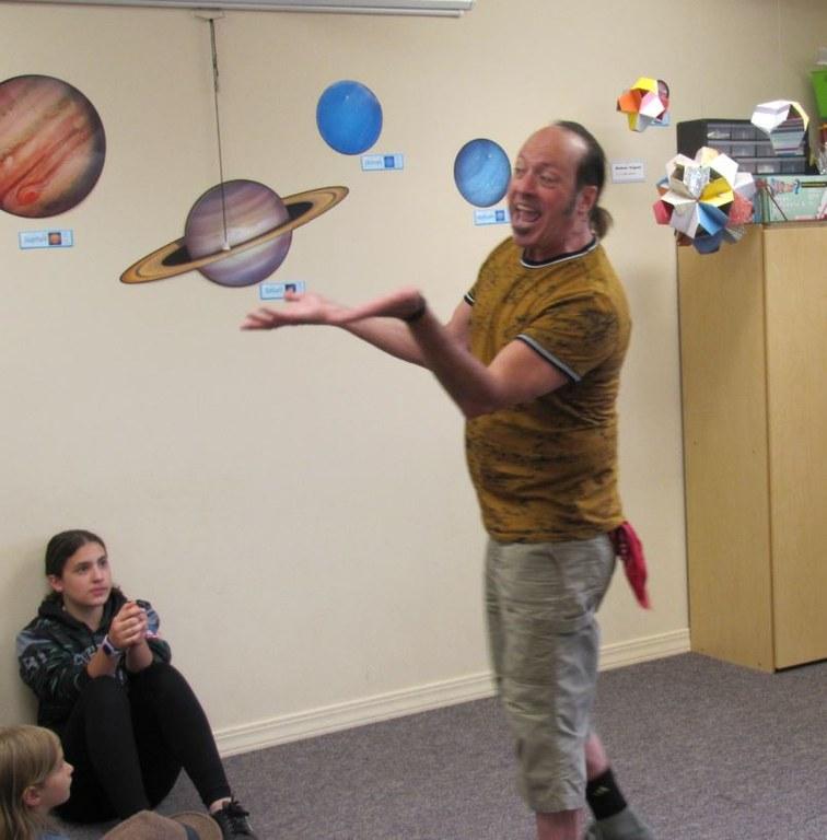 Chris Leebrick, storyteller extraodianaire..