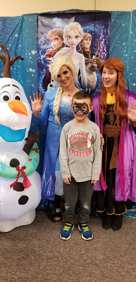 A Family Fun Night with Frozen Edu-Adventures! Thank you Elsa and Anna