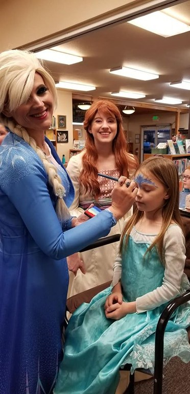 Frozen Family Face Painting by Elsa (Brandy Lynn)