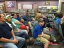 Community members enjoy the presentation..
