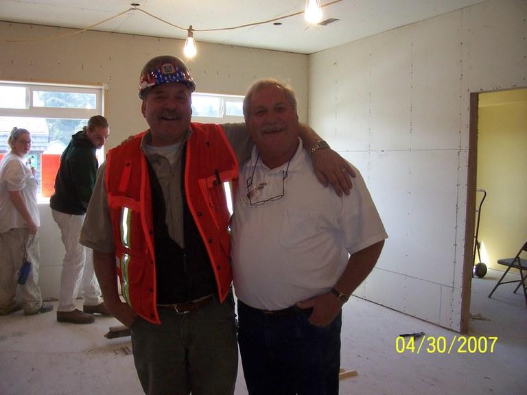 Rich Bappe & Buck Hobbs on the job!