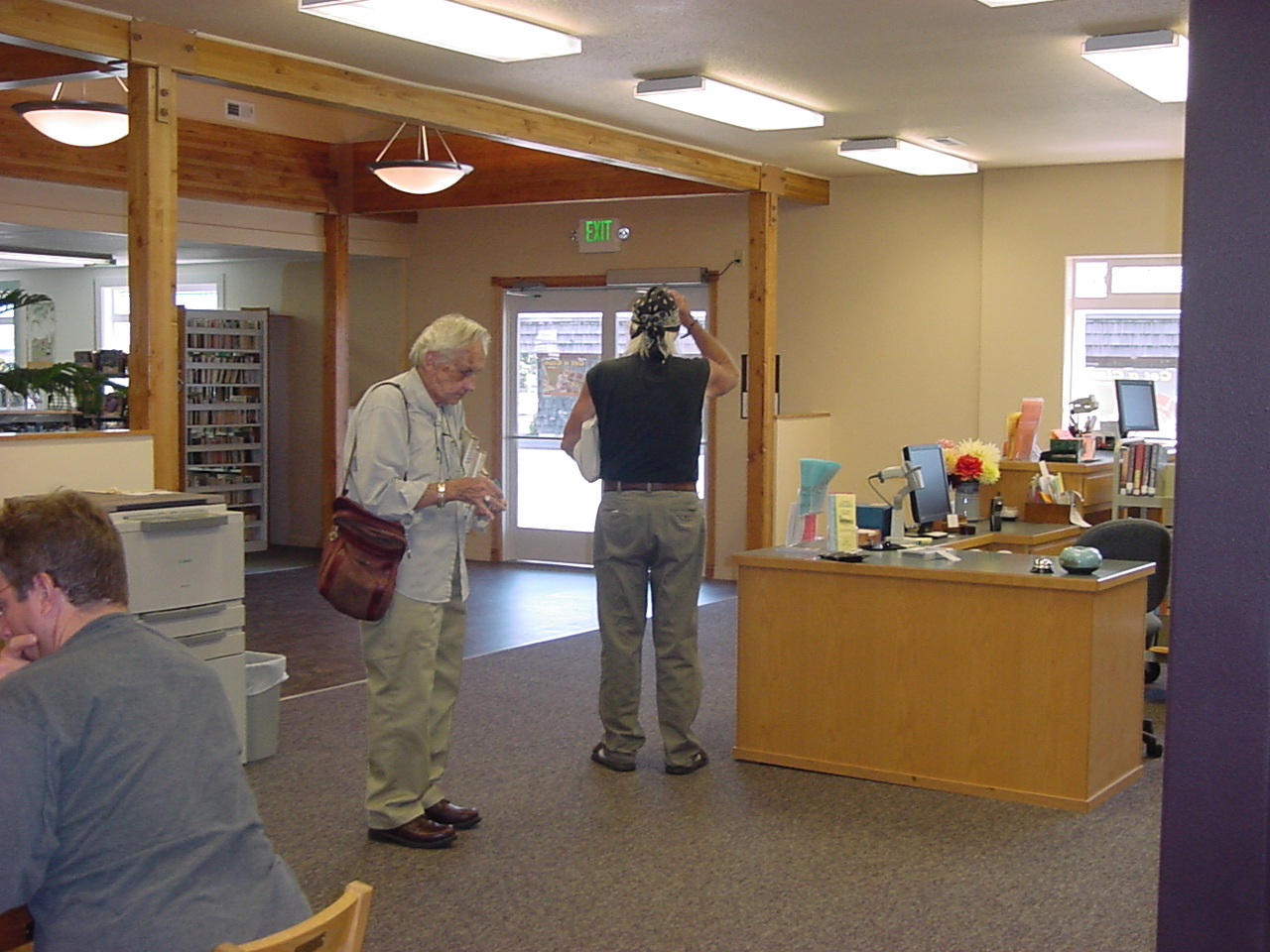 Library's New Foyer & Circulation Area