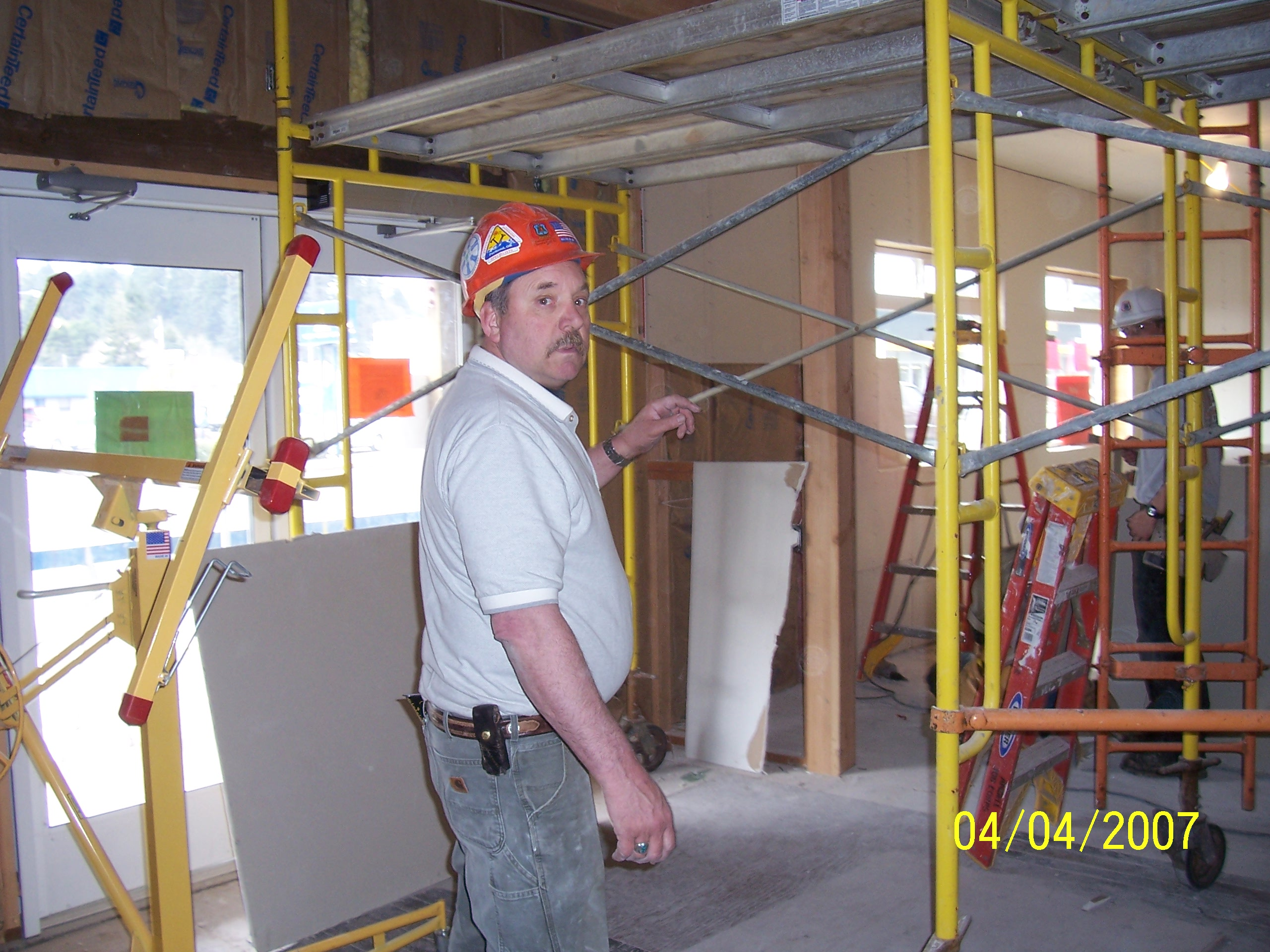 Buck Hobbs, Angell Job Corps Carpentry Instructor