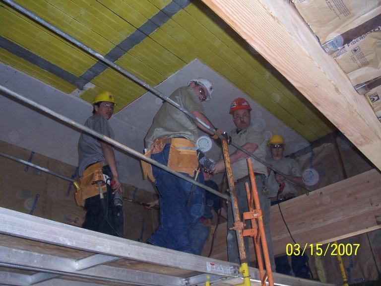 Hanging Ceiling Sheetrock