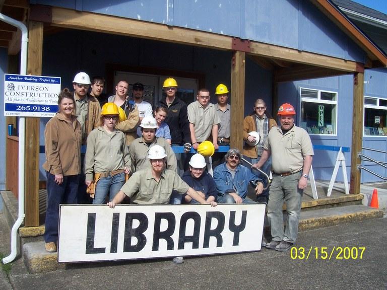 Angell Job Corps Carpentry Pre-Apprenticeship Program Project