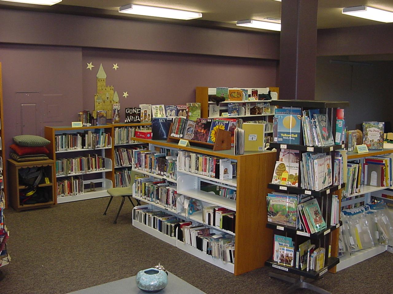 Childrens Books & Videos Area!