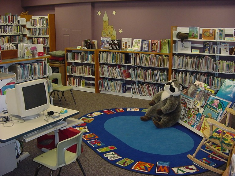 Childrens Story Time Area!
