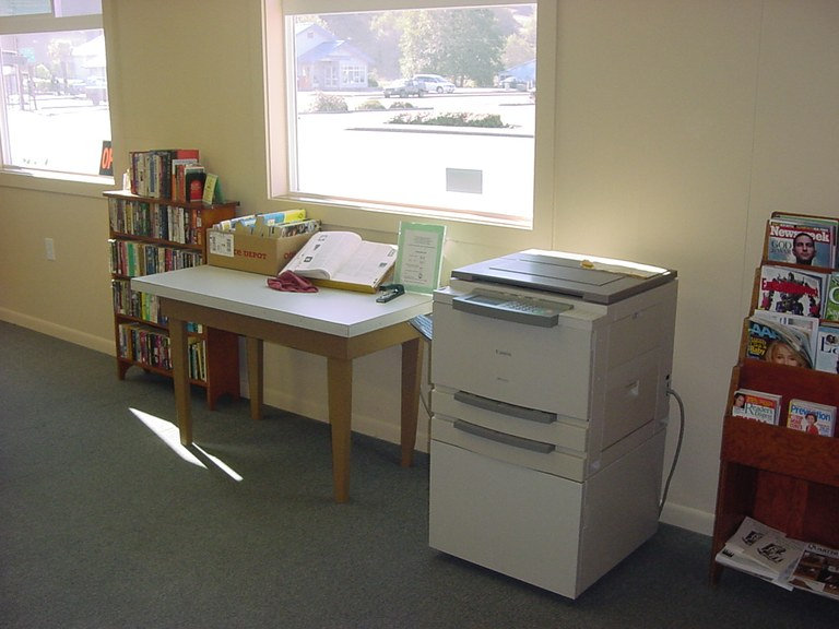 Library's New Reference Area!