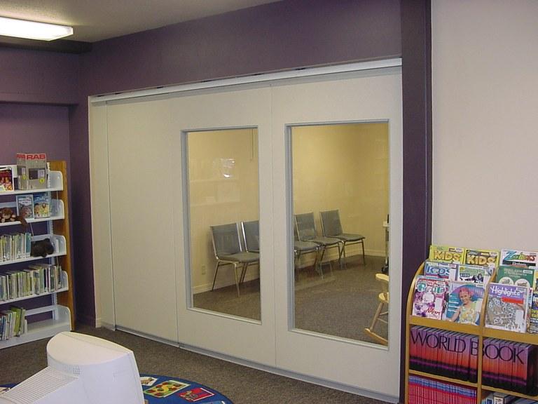 Library's New Meeting Room Door!