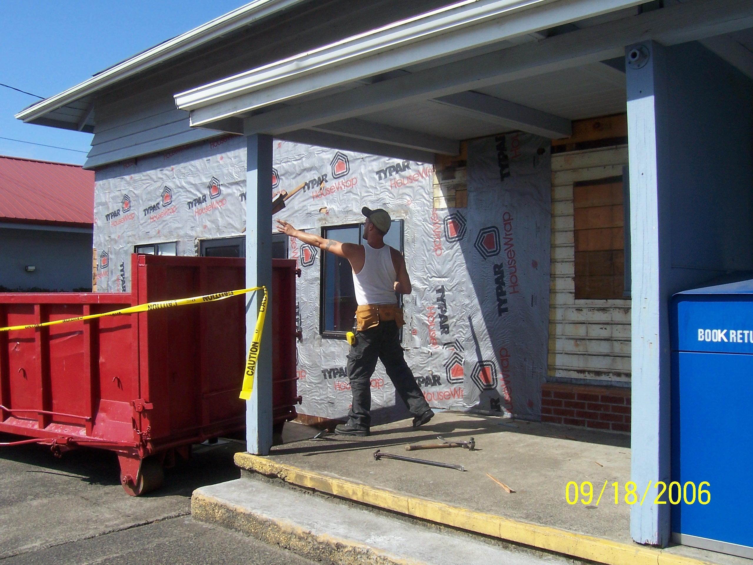 Subcontractor-Michael Watkins Construction