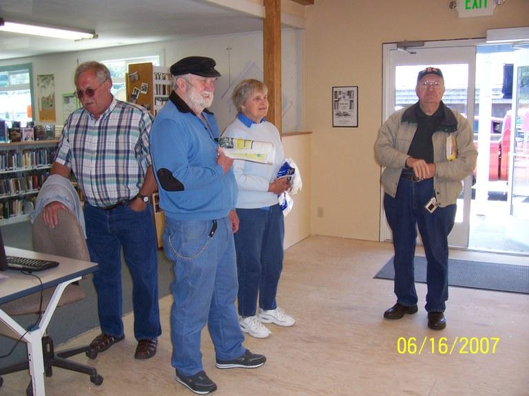 Volunteers enjoying the Open House!