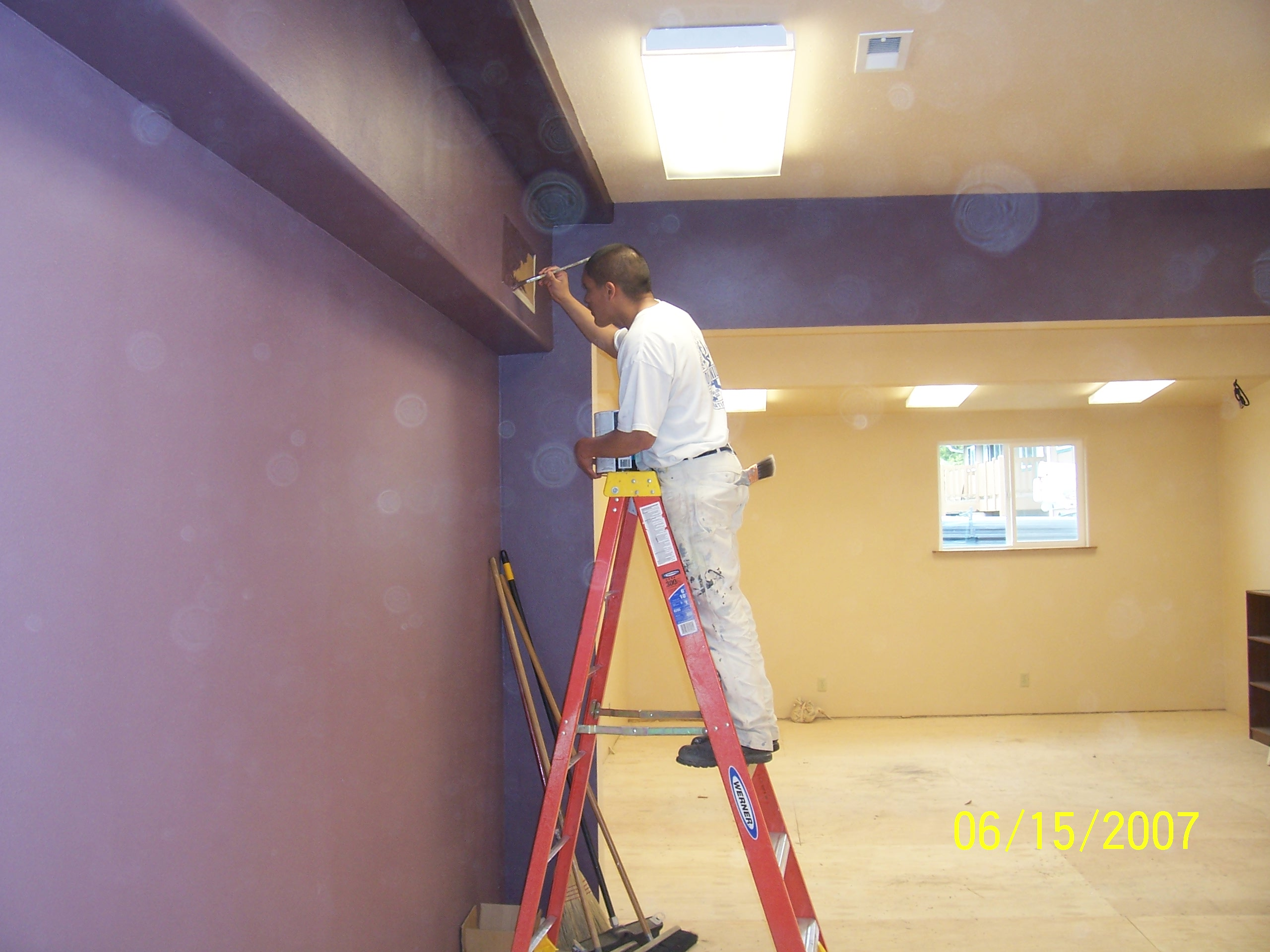 Job Corps. student brings beauty to childrens area!
