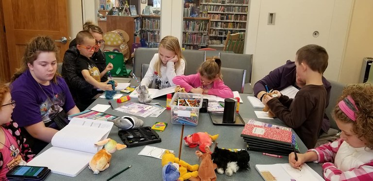 Fun With Library Friends & Storybook Journals!