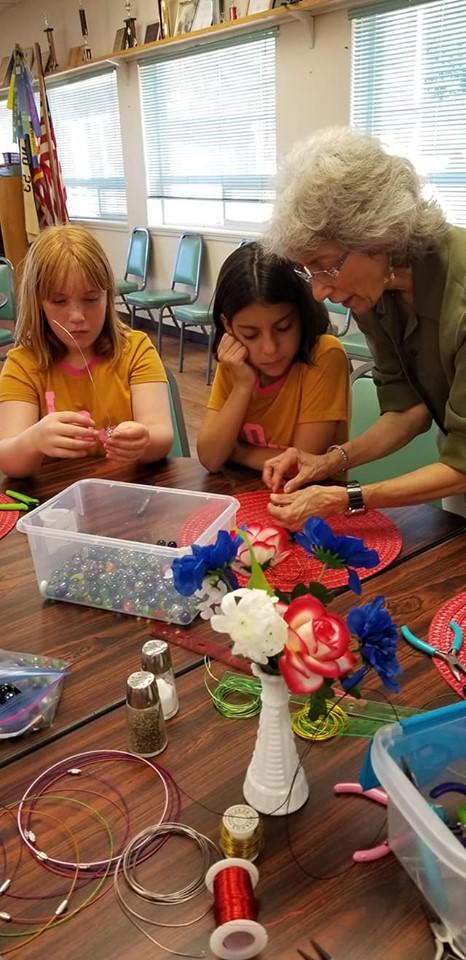 Jewelry making with Ricki..