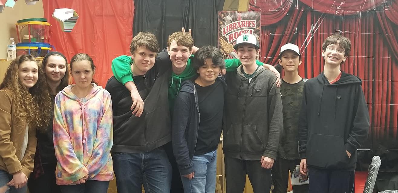 A Fun Night at Teen Movie Night!!