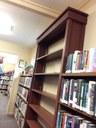 Darrel's classic constructed bookshelves
