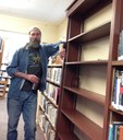 The shelves are ready for books!! Yeah..