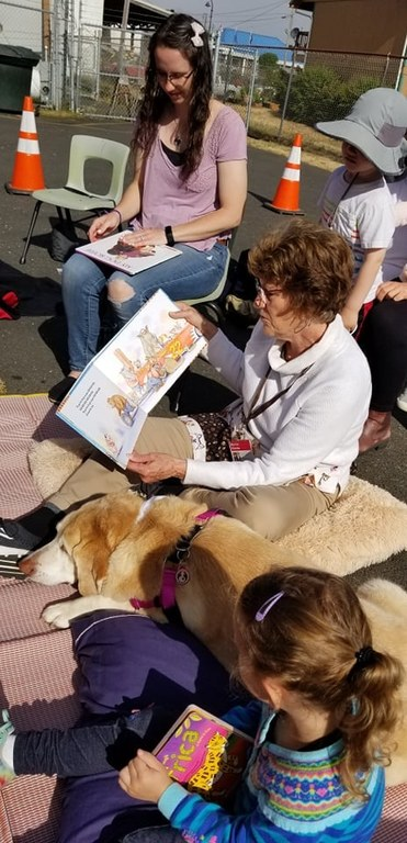 Reading, Pets, and Little Bugs'- Oh My!