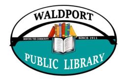 Waldport Public Library Logo